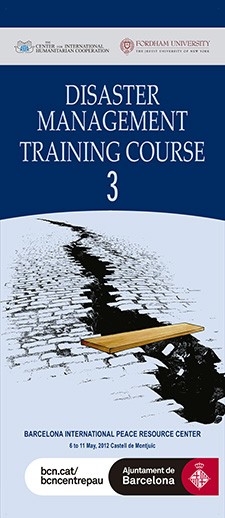 DISASTER MANAGEMENT TRAINING COURSE