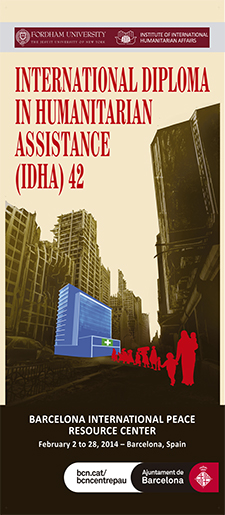 INTERNATIONAL DIPLOMA IN HUMANITARIAN ASSISTANCE (IDHA) 42